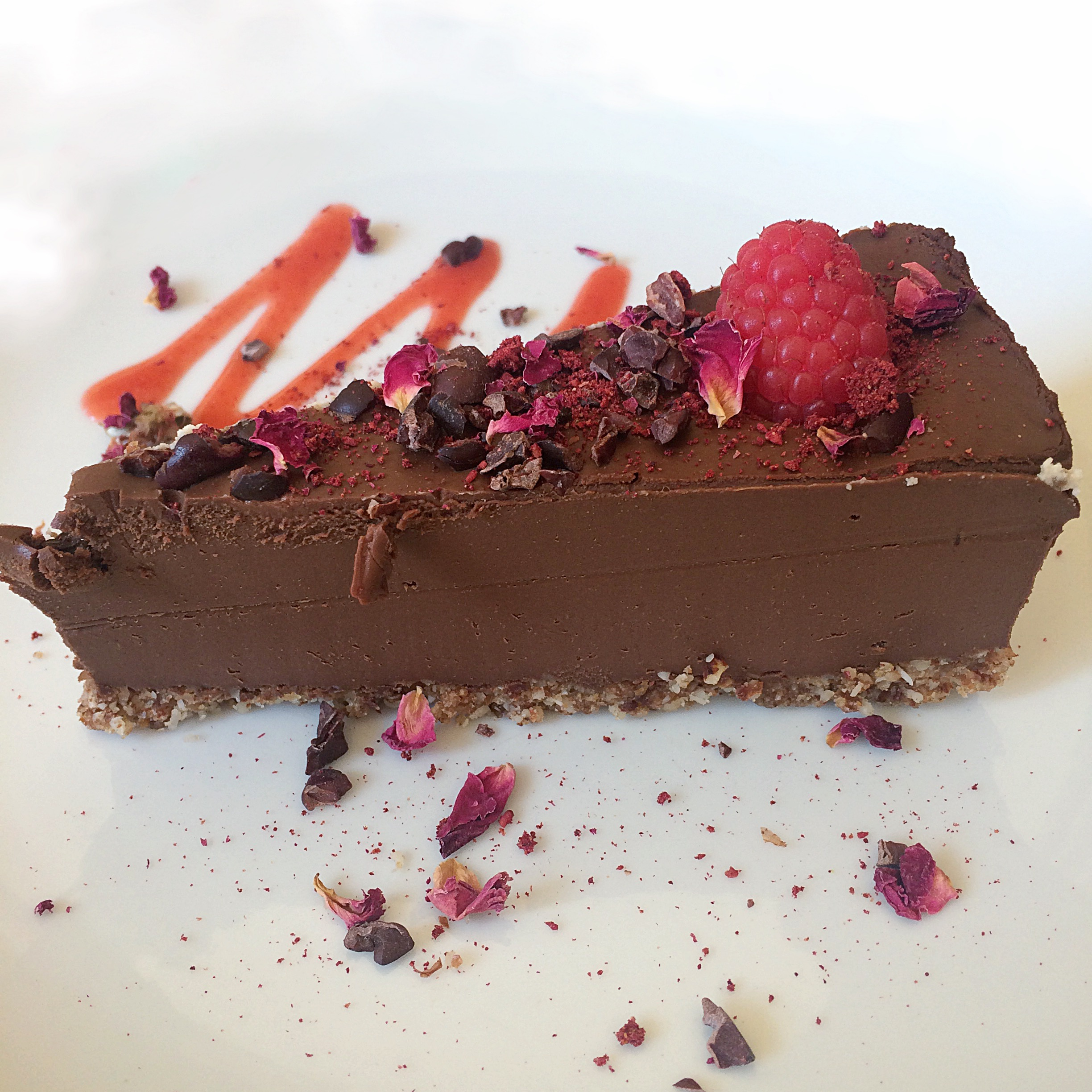 THE Raw Chocolate Tart