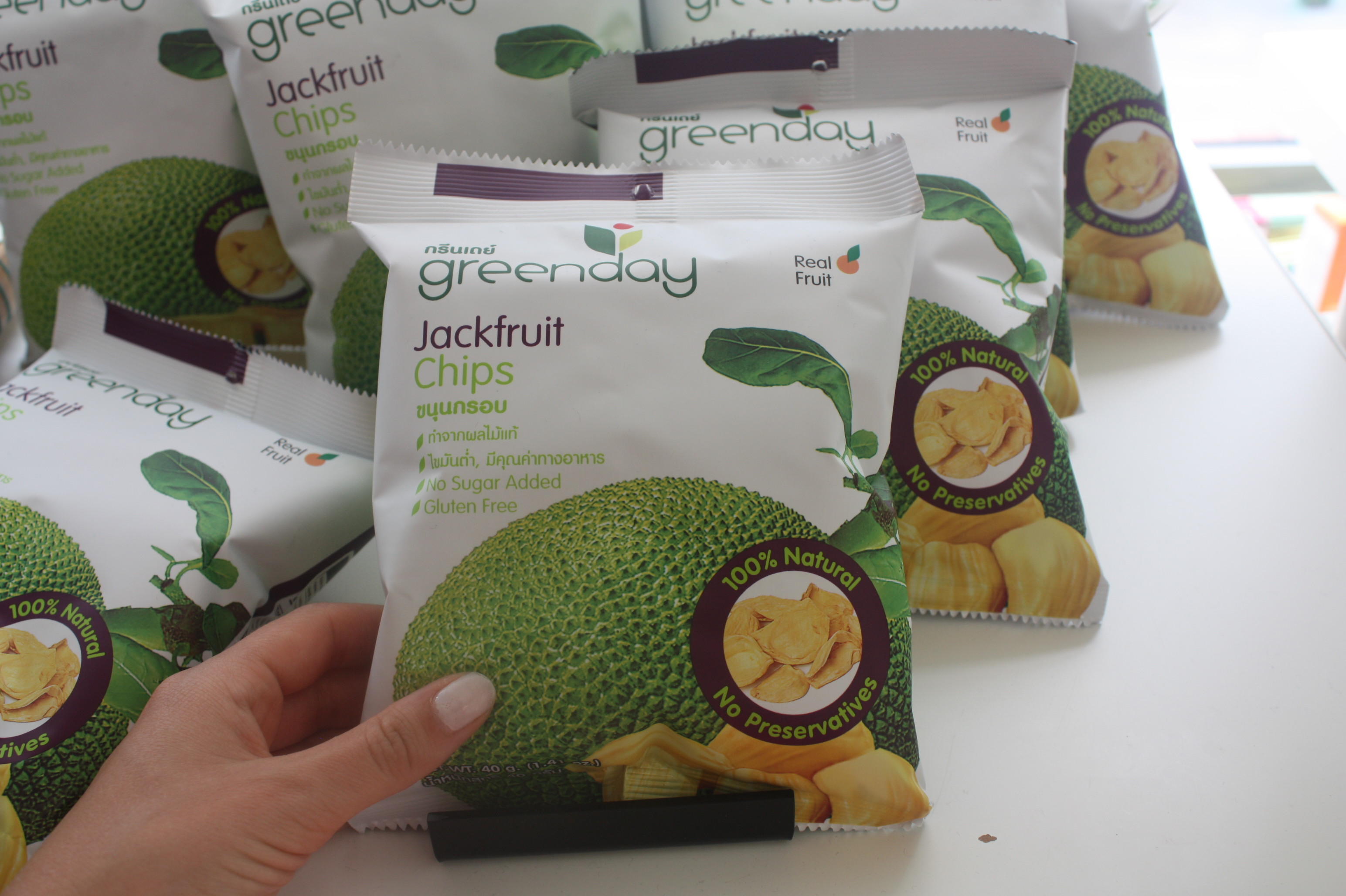 Found Jackfruit Chips!
