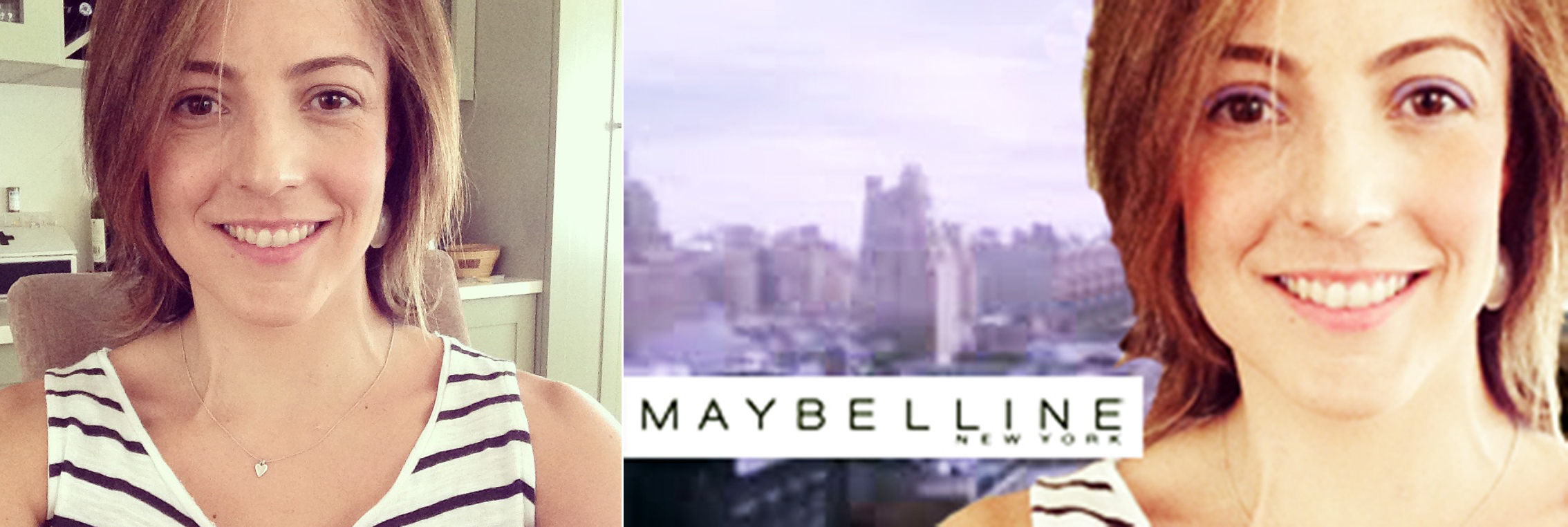 Lucy why didn't you tell me you work for Maybelline?