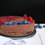 The best vegan Nutella Raw Cake