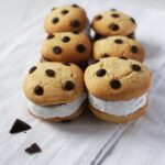 The best vegan Chocolate chip cookie Sandwiches