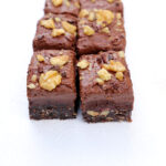 Raw orange infused Brownies