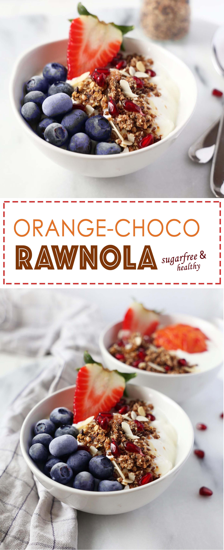Orange Chocolate Rawnola