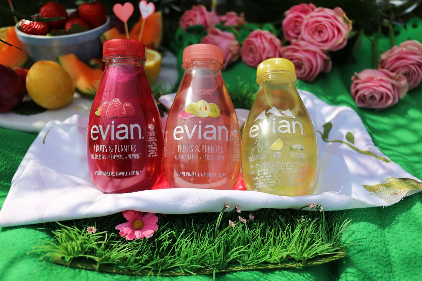 New evian Fruits and Plantes - The perfect spring day