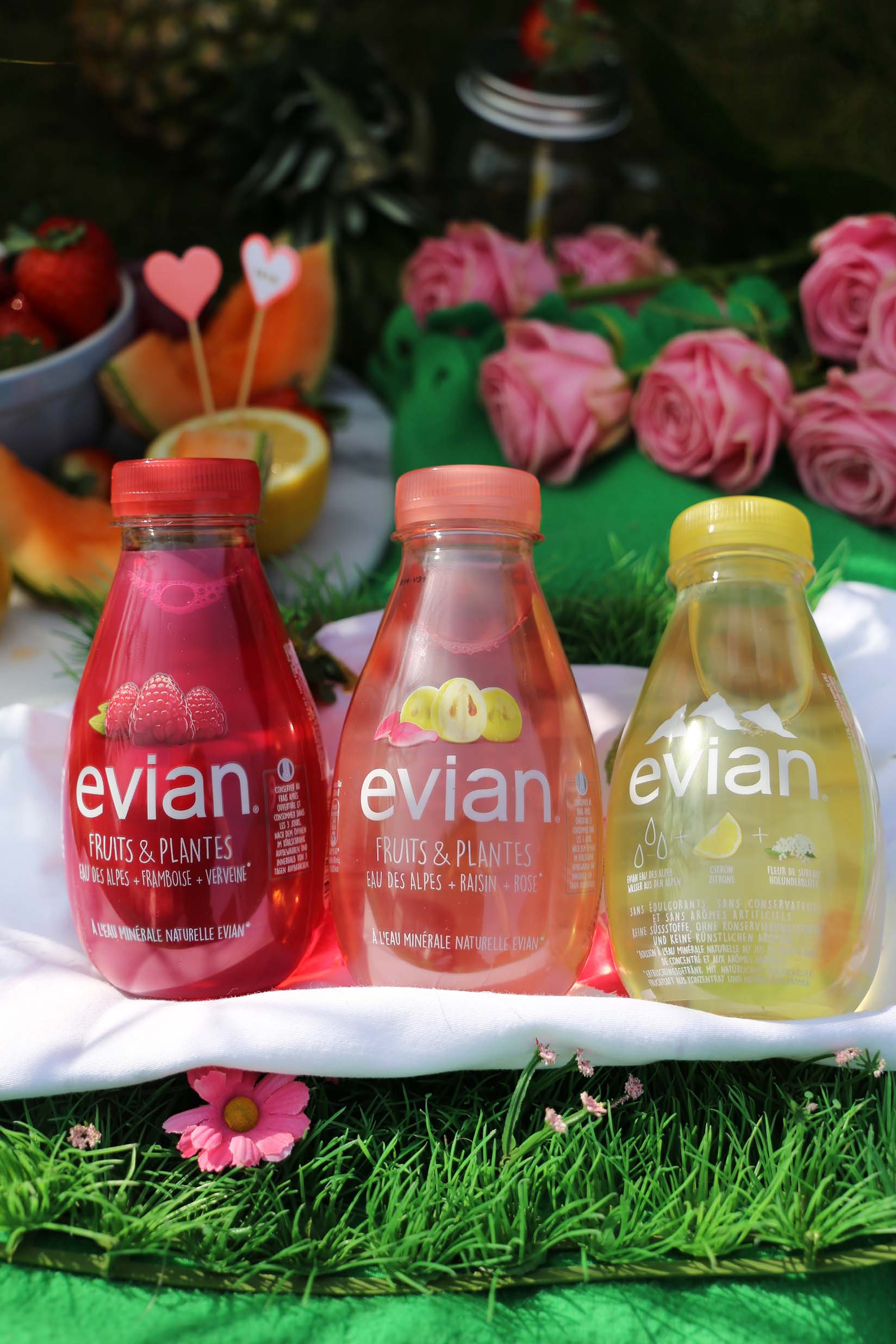 Assez New evian Fruits & Plantes - The perfect spring day  VK39