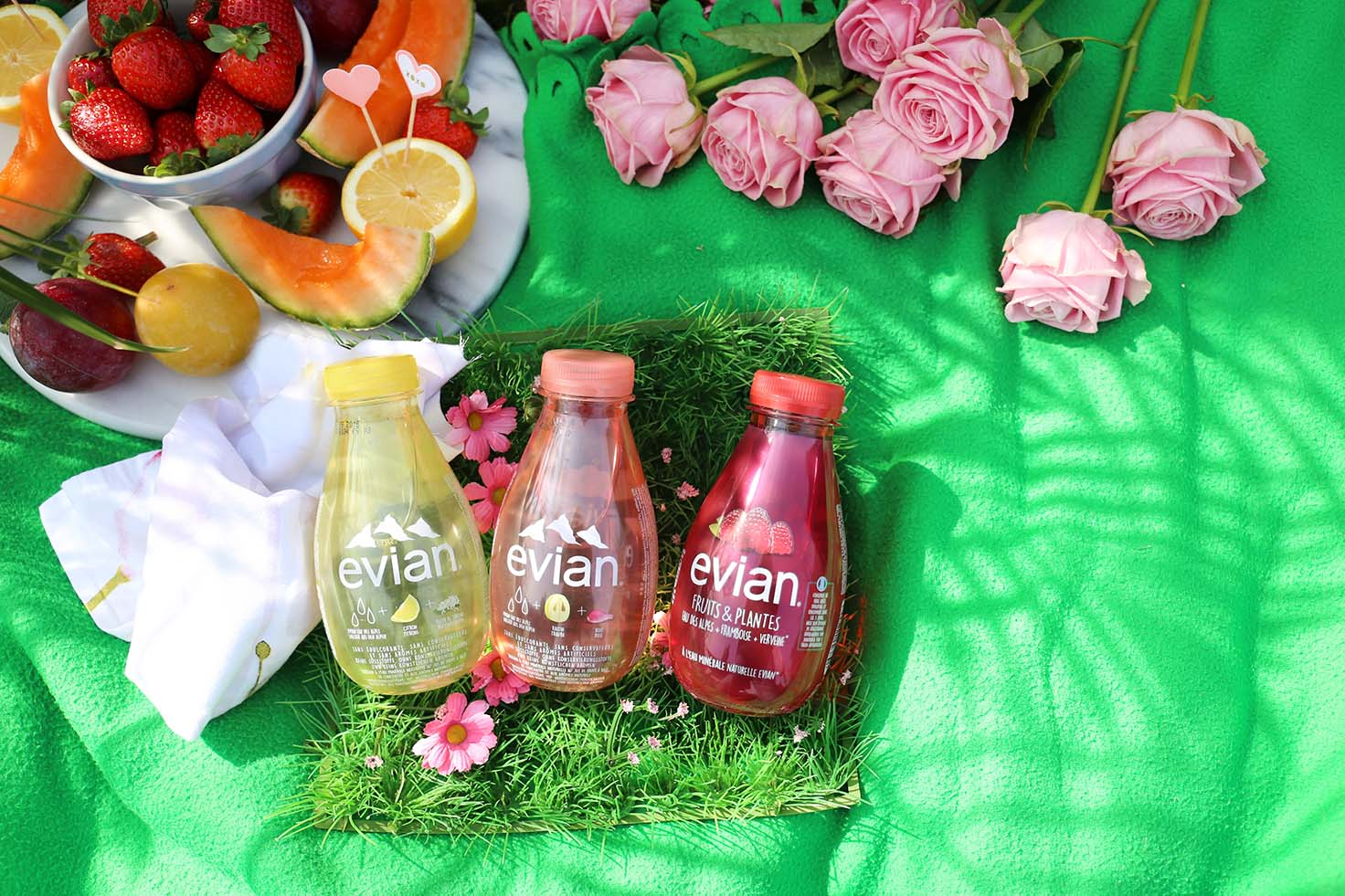 New Evian Fruits and Plants