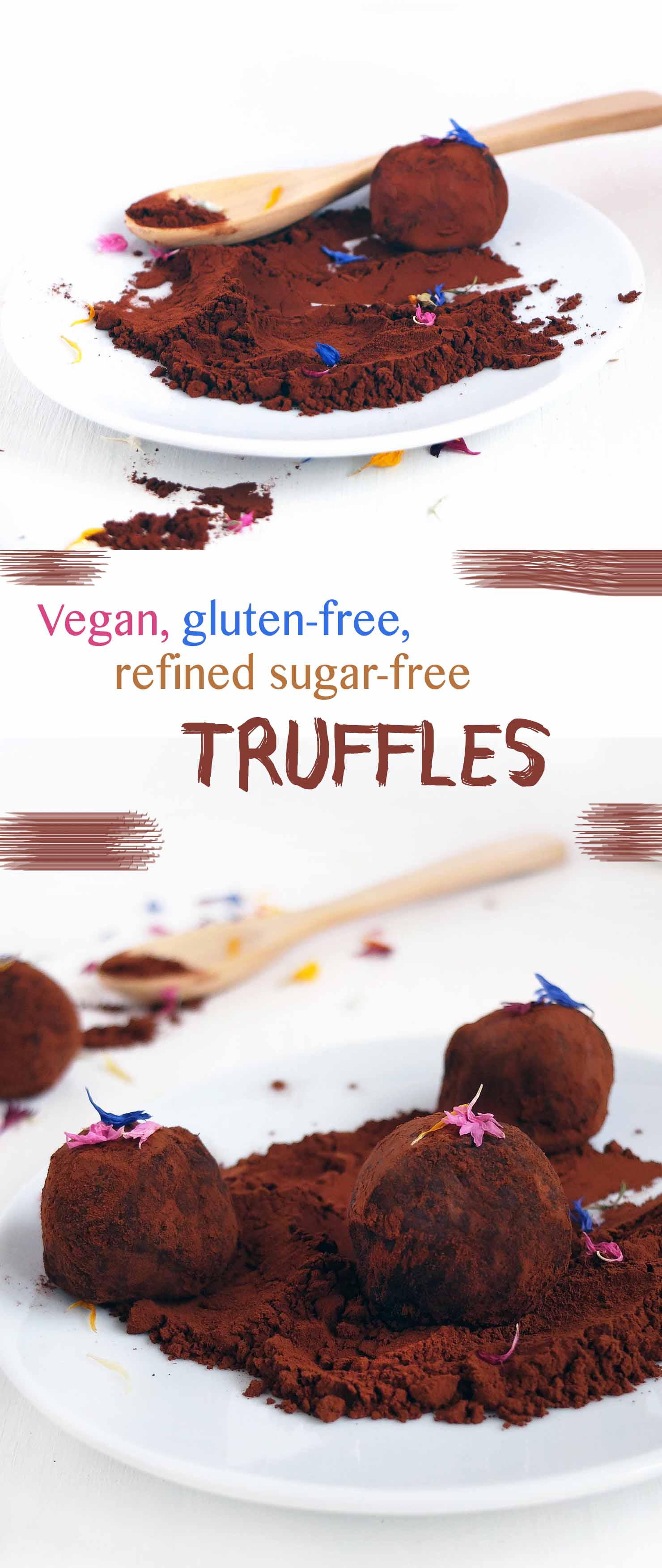 Healthy Chocolate truffles made in just 10 minutes