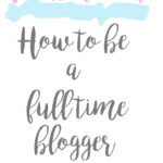 Dream job Blogger- What does it mean to be self employed?
