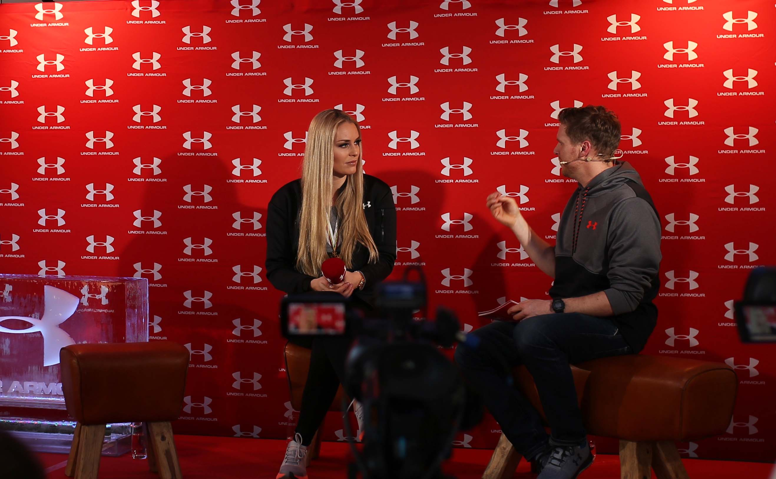 Strong is the new beautiful - Under Armour Event in St.Moritz