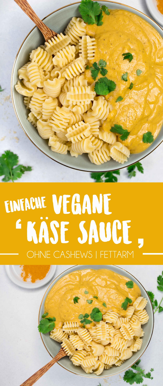"""Einfache vegane """"Käse-Sauce"""""""