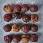 Carob Cacao Maca Truffles for hormonal balance and to satisfy your sweet cravings