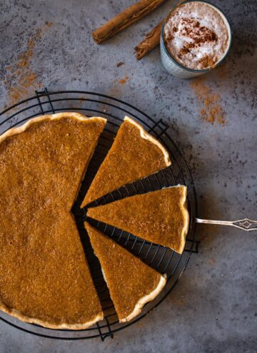The easiest vegan Pumpkin pie you've ever made