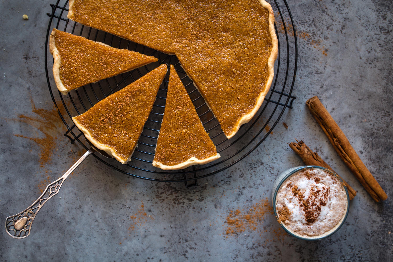 The easiest vegan Pumpkin pie you've ever made