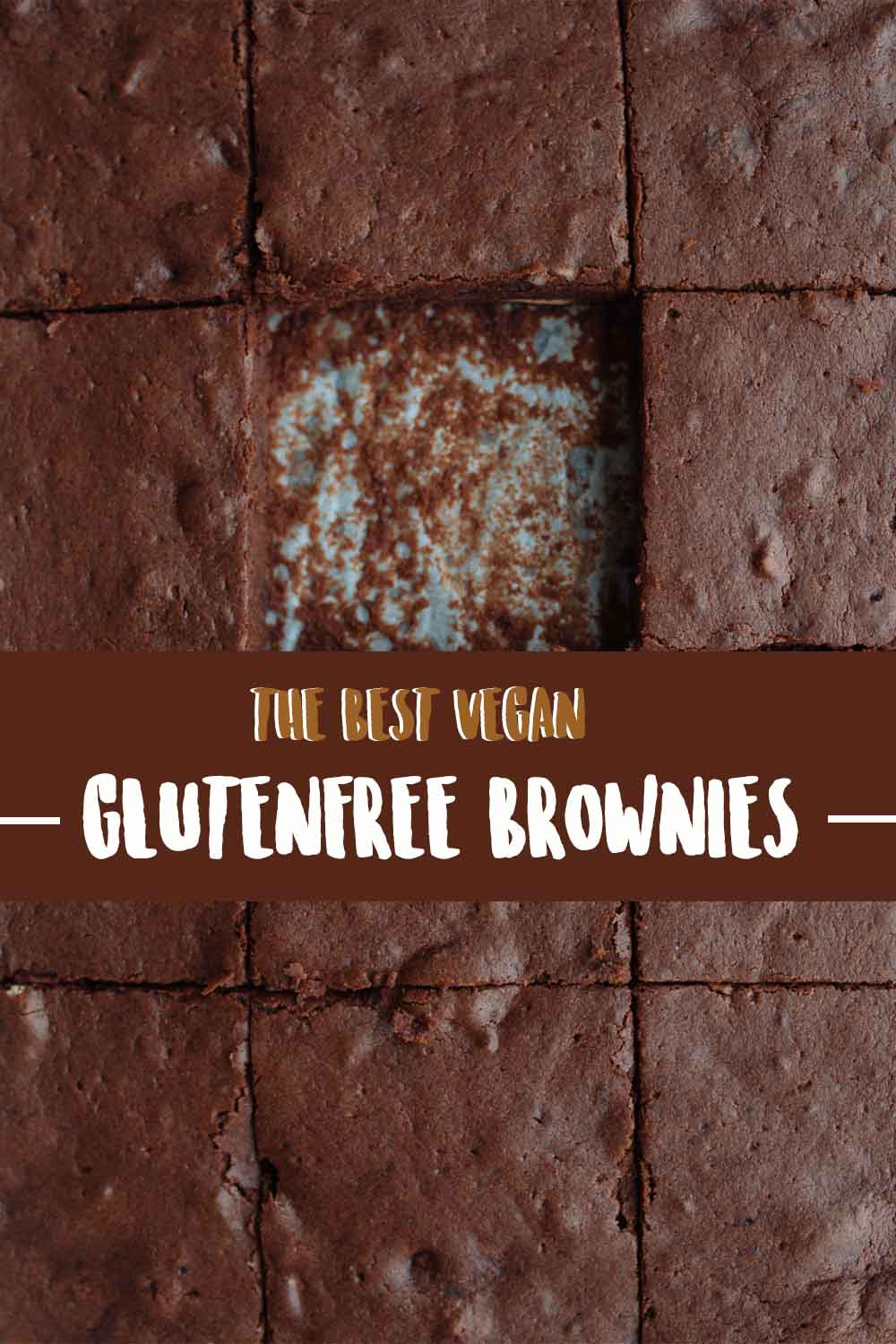 The BEST vegan gluten-free Brownies