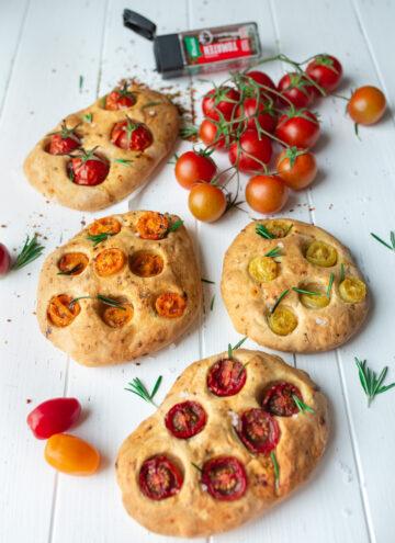 Tomatenfocaccia - Echt italienisch!