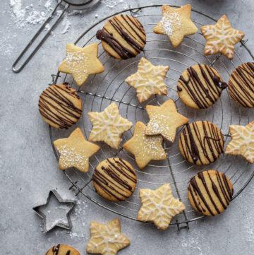 3-2-1 The world's easiest vegan Christmas Cookies